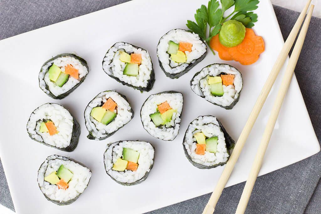 Maki with wasabi