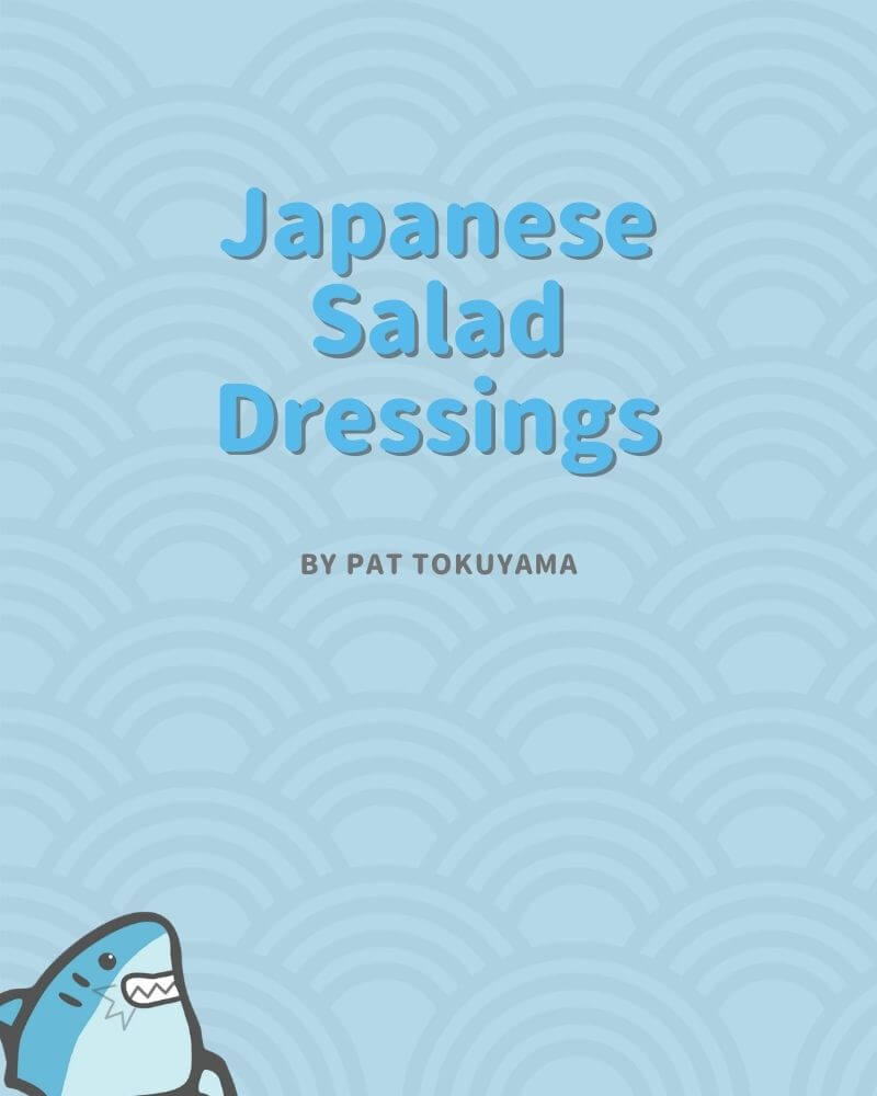 japanese salad dressings cookbook by pat tokuyama cover