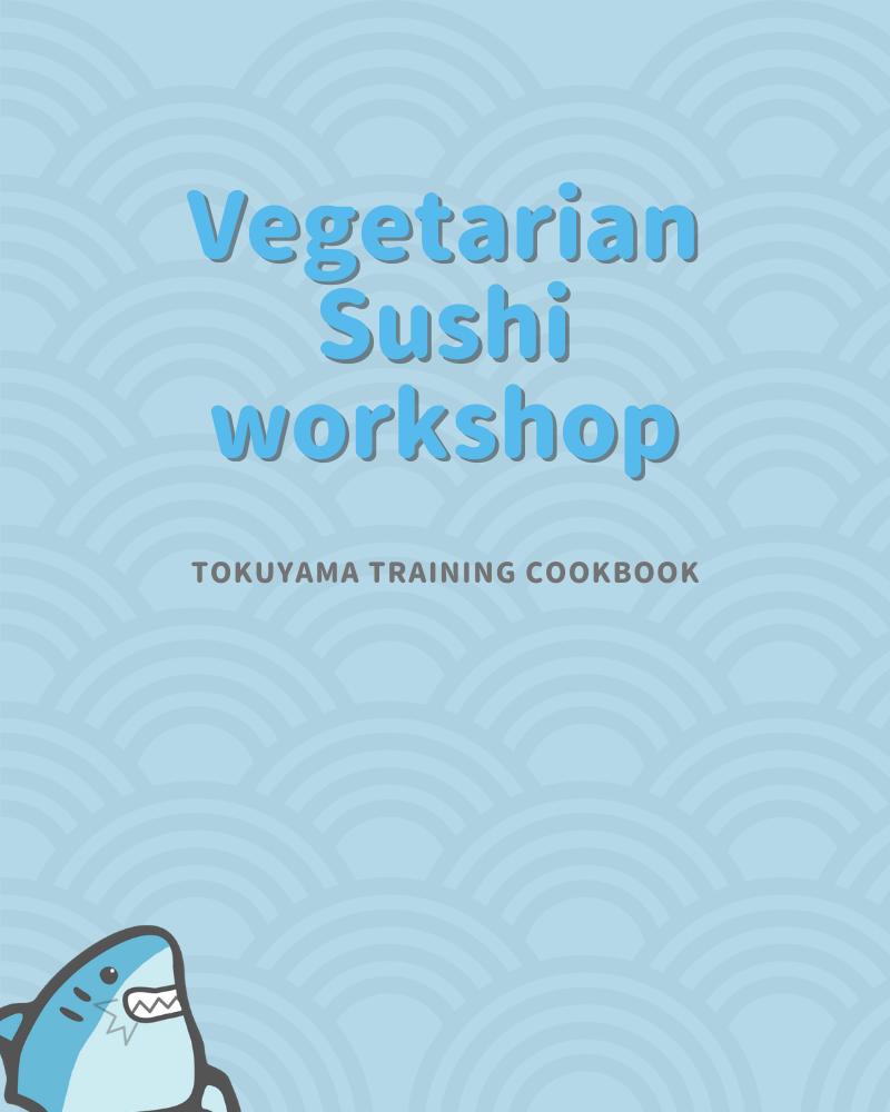 vegetarian sushi workshop cookbook by pat tokuyama cover